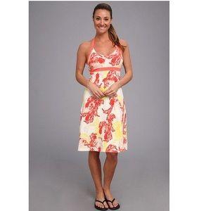 PATAGONIA Iliana Organic Cotton Halter Dress SZ S